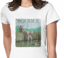 Dog Breed - the Poodle Womens Fitted T-Shirt