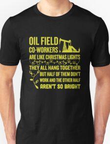 Oil Field Co-workers Unisex T-Shirt