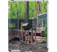 Facade with BBQ Grill iPad Case/Skin