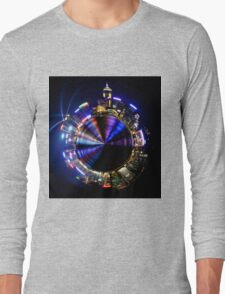 The planet that never sleeps Long Sleeve T-Shirt