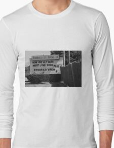 Auburn, NY - Drive-In Theater Long Sleeve T-Shirt