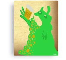 beer demon Canvas Print