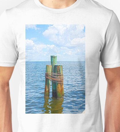 Three Friends in the Sea Unisex T-Shirt