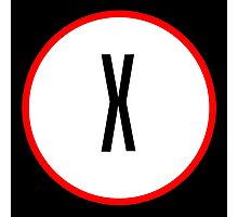 X Files X Photographic Print