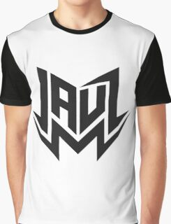 Jauz - Logo - Black Graphic T-Shirt