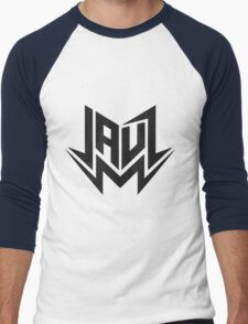 Jauz - Logo - Black Men's Baseball ¾ T-Shirt