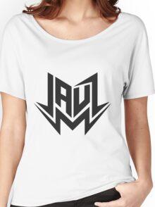 Jauz - Logo - Black Women's Relaxed Fit T-Shirt