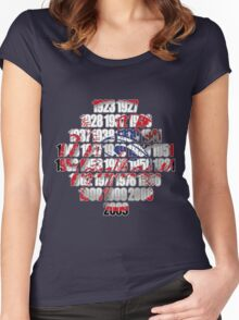 New york Yankees world series championships Women's Fitted Scoop T-Shirt
