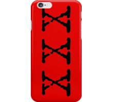X Files XXX iPhone Case/Skin