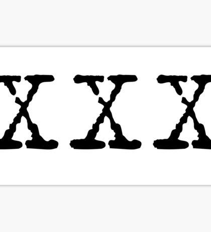 X Files XXX Sticker