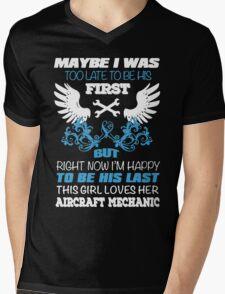 This Girl Loves Her Aircraft Mechanic T-Shirt