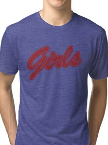 Girls (Red) Tri-blend T-Shirt