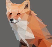 Red Fox, Gray Sticker