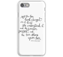 Tolkien Quote Hand Lettering iPhone Case/Skin