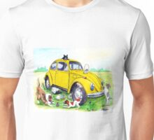 Taxi Bug's Easter with Doggy Friends Unisex T-Shirt