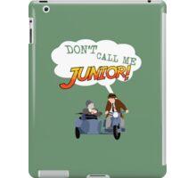 Don't Call Me Junior! iPad Case/Skin