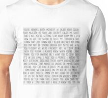 Swan Queen quotes Unisex T-Shirt