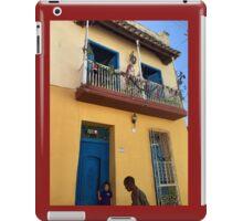 Cuba - Trinidad - street scene iPad Case/Skin