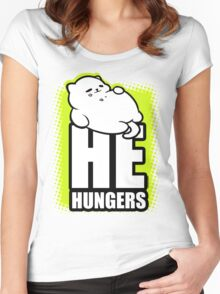 He Hungers Women's Fitted Scoop T-Shirt