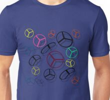 Color Helicopters Unisex T-Shirt