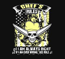 CHEF'S RULES Unisex T-Shirt