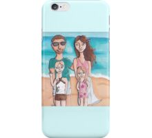 Family Holiday iPhone Case/Skin