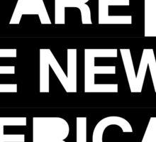 new americana Sticker