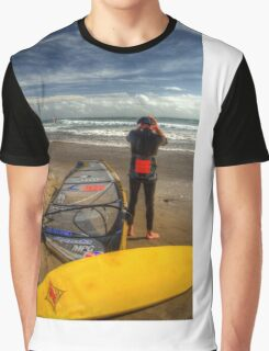 The resting Wind Surfer Graphic T-Shirt