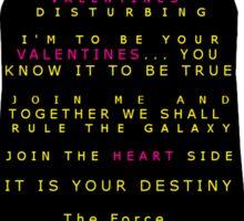 Star Wars Darth Vader: Valentines Sticker