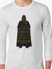 Star Wars Darth Vader: Valentines Long Sleeve T-Shirt