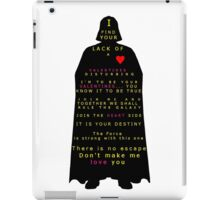 Star Wars Darth Vader: Valentines iPad Case/Skin