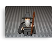 You Shall Not PASS, on this photo Canvas Print