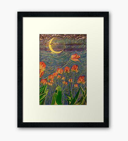Late Bloomer Framed Print