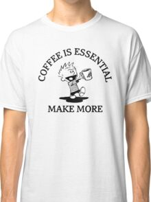 calvin and hobbes coffee Classic T-Shirt