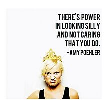 (b)A(e)my Poehler Photographic Print