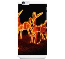 Golden Reindeer # 2 iPhone Case/Skin
