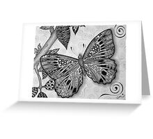 Erica's Butterfly Greeting Card