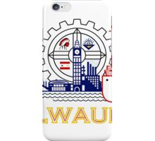 Milwaukee Flag iPhone Case/Skin
