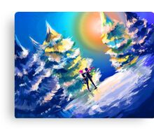 skater boys Canvas Print