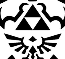 Take This - Zelda Shield and Sword Sticker