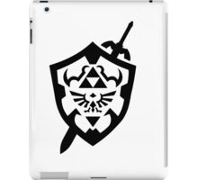 Take This - Zelda Shield and Sword iPad Case/Skin