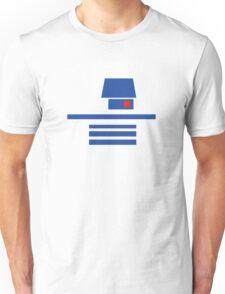 Minimal Transparent R2D2 Unisex T-Shirt