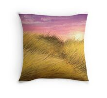 Grassy Plains Throw Pillow