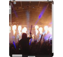 flame on concert  iPad Case/Skin
