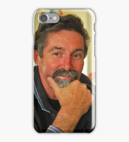 Portrait of Dave # 4 iPhone Case/Skin