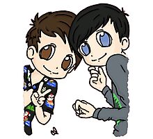 Dan and Phil Holidays Photographic Print