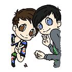 Dan and Phil Holidays by clevernessofyou
