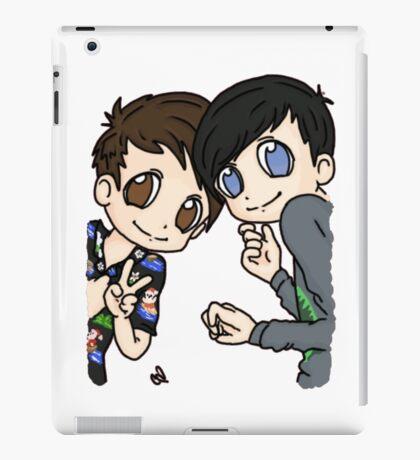 Dan and Phil Holidays iPad Case/Skin