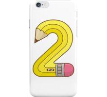 #2 Pencil iPhone Case/Skin