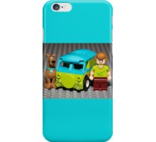 Scooby, Shaggy and the Machine iPhone Case/Skin